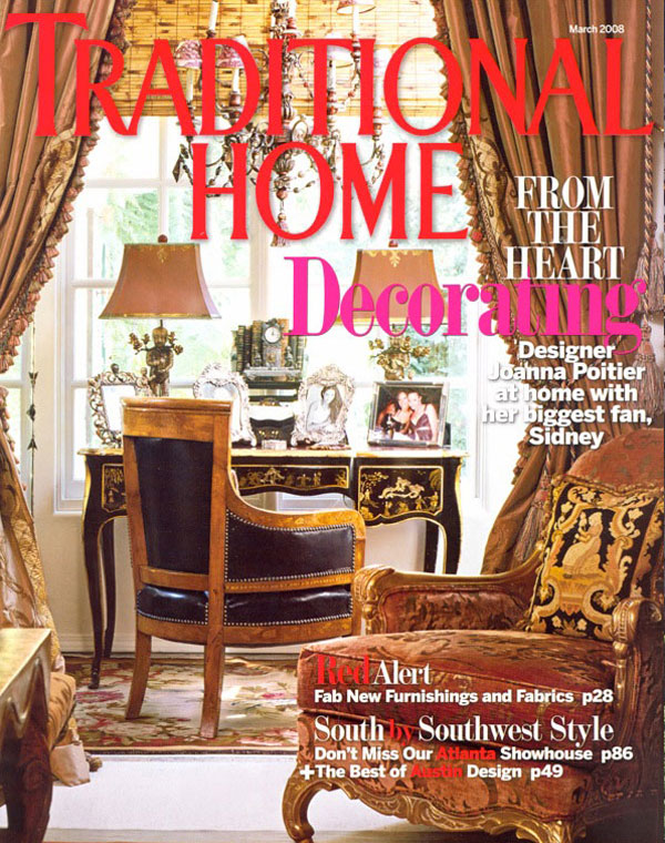 Traditional home interiors - Interiors Traditional Home March 2008 Westbrook Interiors